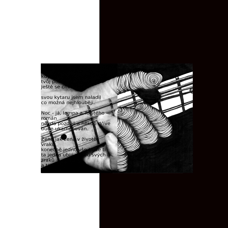 Kytara Petra Timurova Obrazy Fotografie Poezie Grafika
